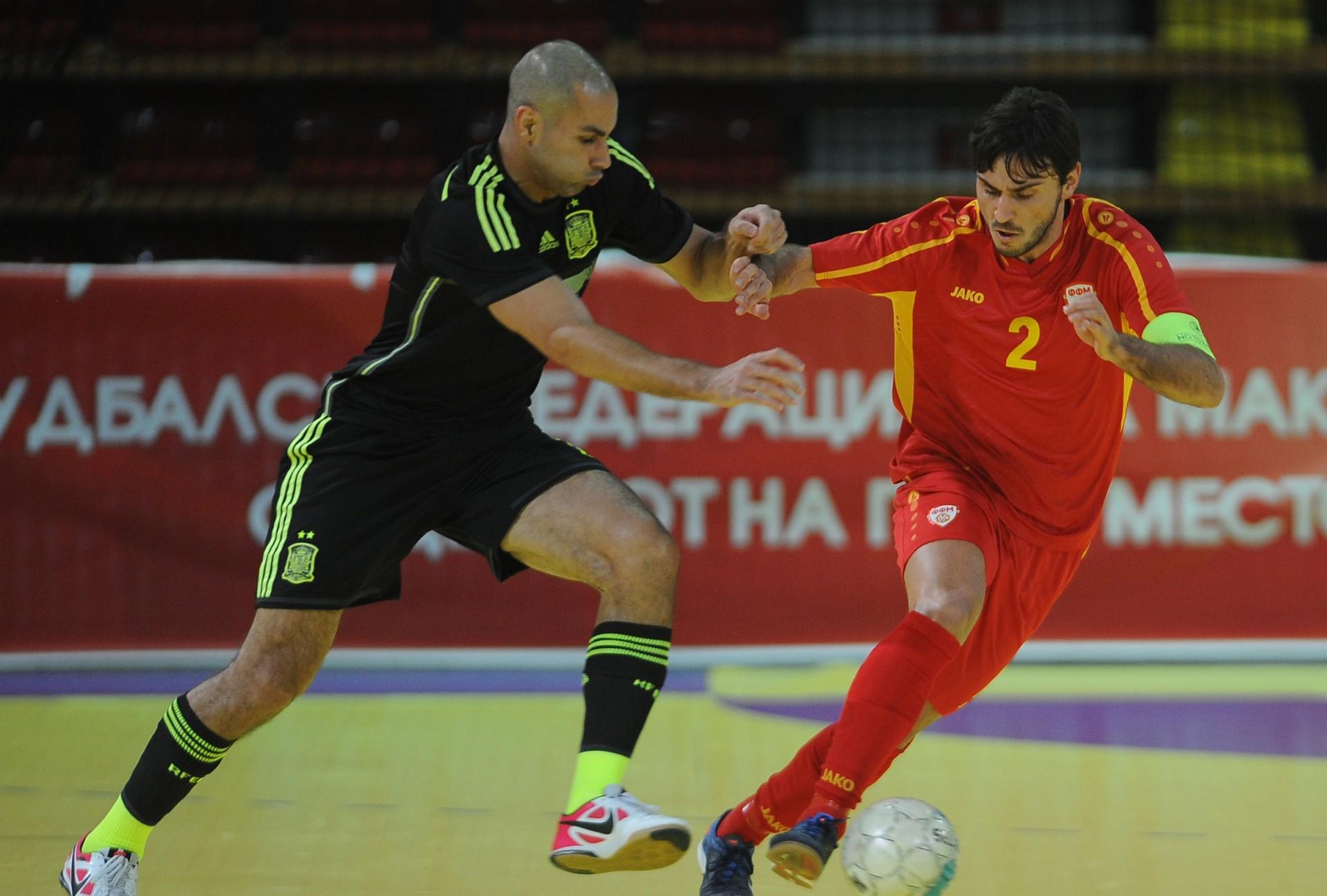 Македонската футсал репрезентација
