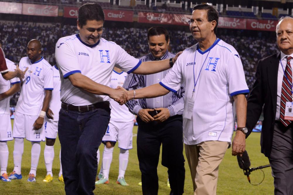 Калјехас хондурас претседател фудбал