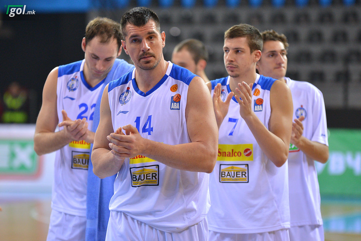 Душко Буниќ во дресот на МЗТ Скопје