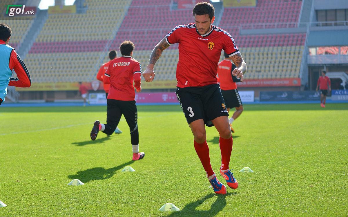 Горан Попов на тренинг
