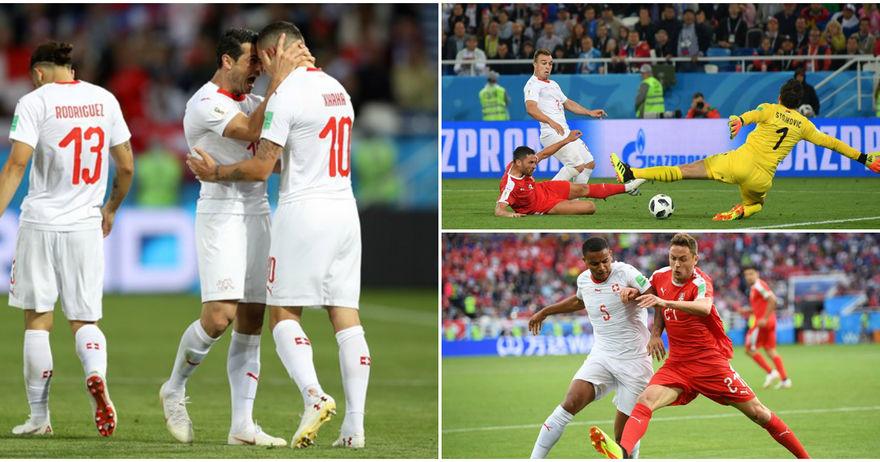 Швајцарија победа