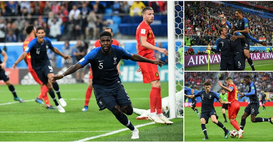 Франција Белгија победа