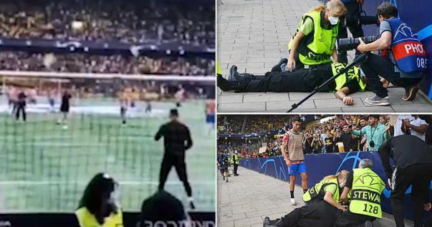 Роналдо удар