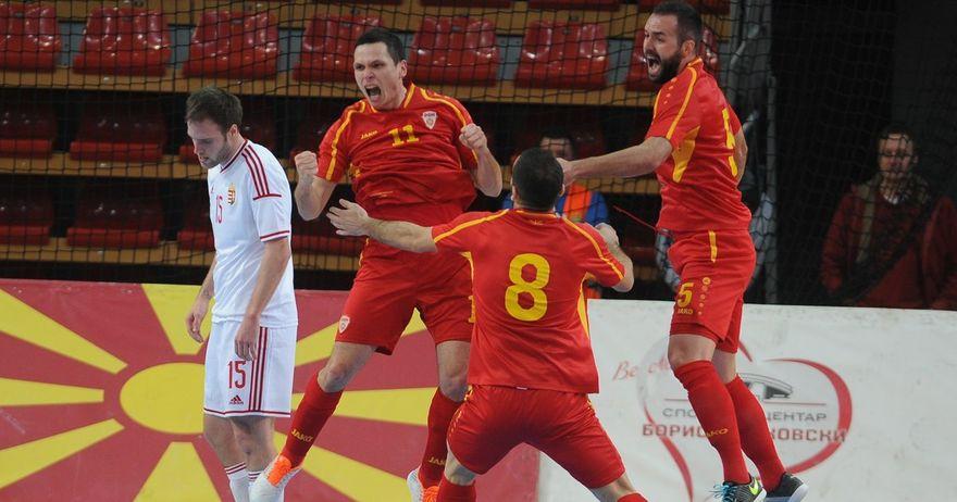 Македонски Футсал репрезентација, квалификаци во Италија