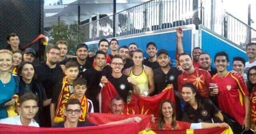 Во Мелбурн ечеше  Македонско девојче    Лина ја израдува македонската нација