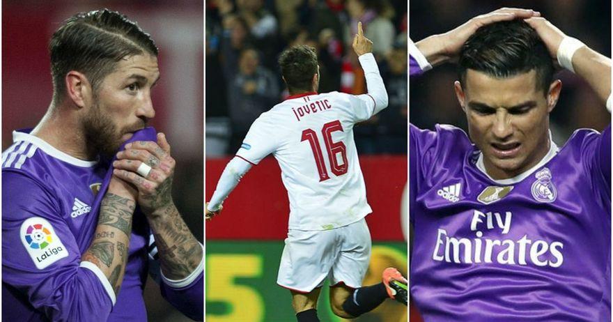 Крај на  кралската  серија   Јоветиќ го расплака големиот Реал Мадрид