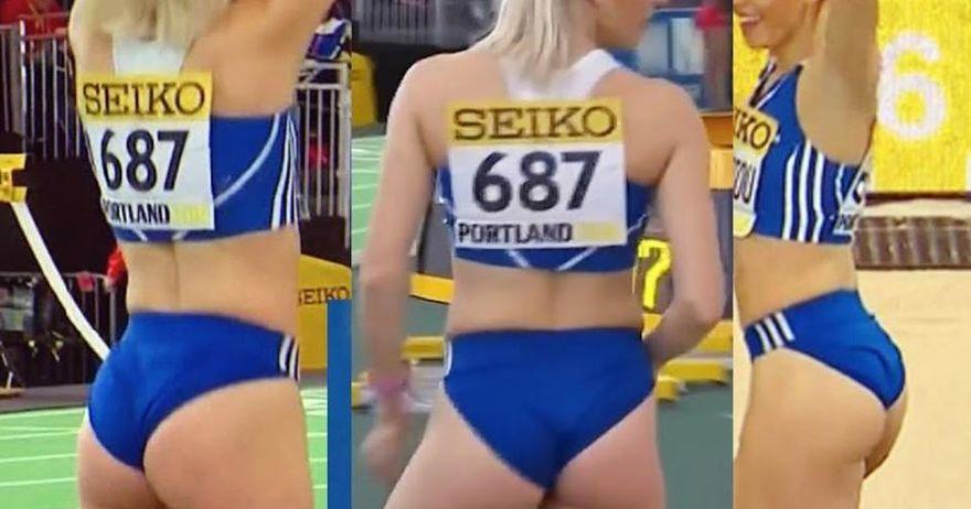 Секси атлетичарка од Грција хит на Балканското првенство во Белград