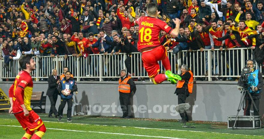 Јаховиќ донесе нова победа за Гезтепе и стана најдобар стрелец во лигата