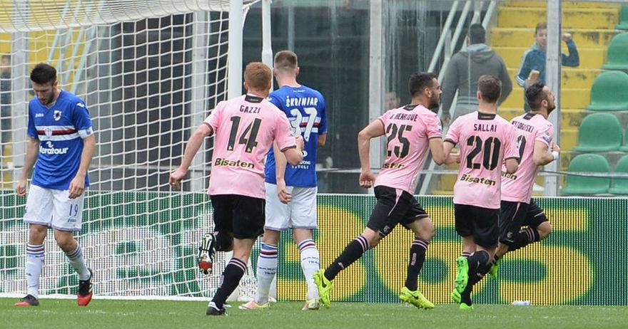 Јубилеен гол на Несторовски  но Палермо пак прокоцка победа во 90  минута