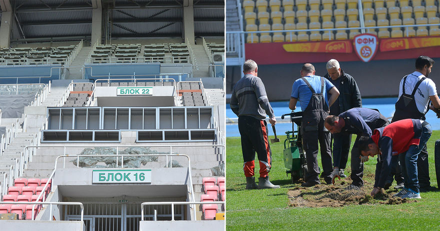 Квалификациите за ЛШ и ЛЕ ќе се играат на стадионoт на ФФМ  опции се и Струмица  Тетово  Прилеп
