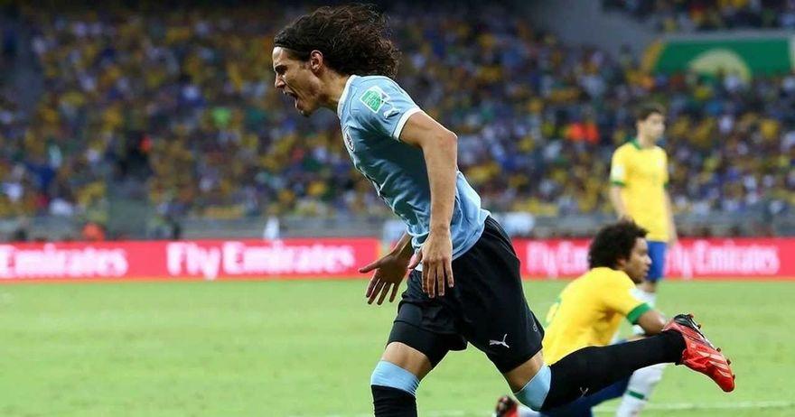 Бразилците уште непочнати губат  Кавани носи водство и делириум на  Сентенарио