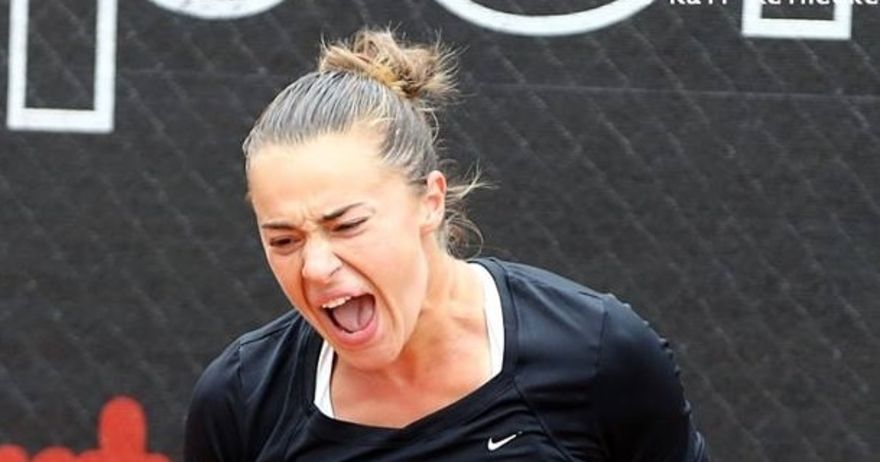 Ѓорческа ја  збриша  Дину на стартот на турнирот во Кјасо