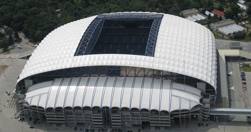 Пелистерци никогаш не играле на поубав стадион    Инеа стадионот  во Познањ никогаш поубав