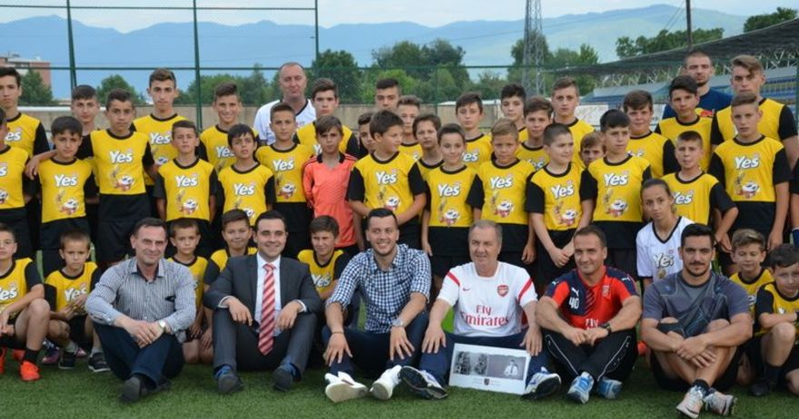 Одржан третиот камп на големиот Арсенал во Струмица