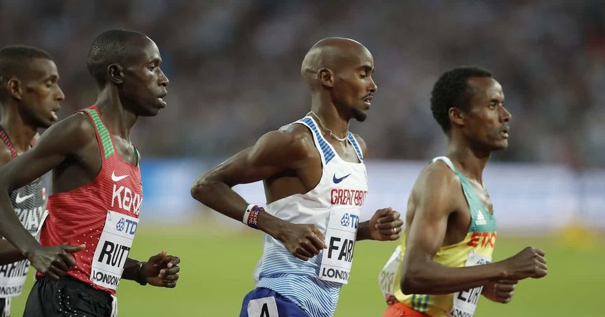 Етиопјаните му го украдоа златото на Фарах на прошталната трка
