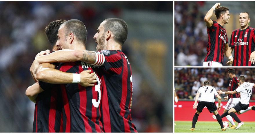 Моќниот Милан ја демолира Шкендија   тетовчани примија шест гола на  Сан Сиро