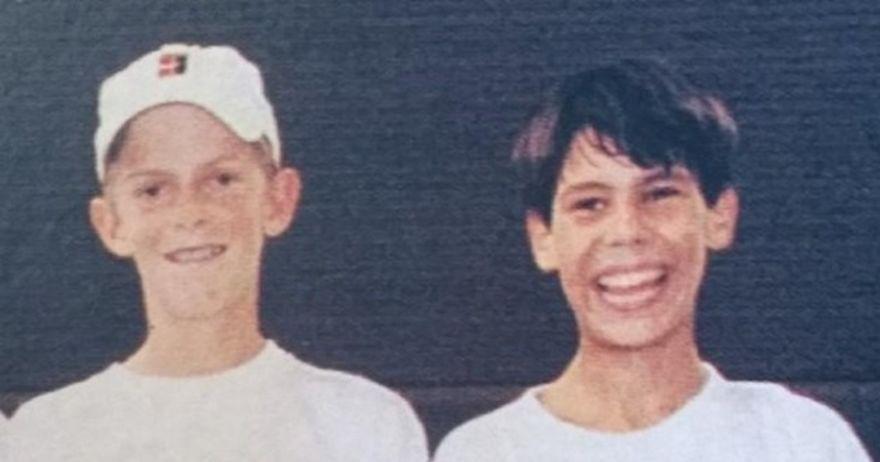 Надал и Андерсон играле еден против друг и како деца пред речиси две децении