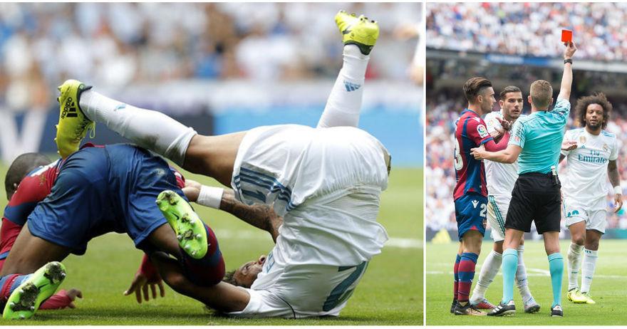 Зидан со нови проблеми  Марсело ја доби казната за црвениот картон против Леванте