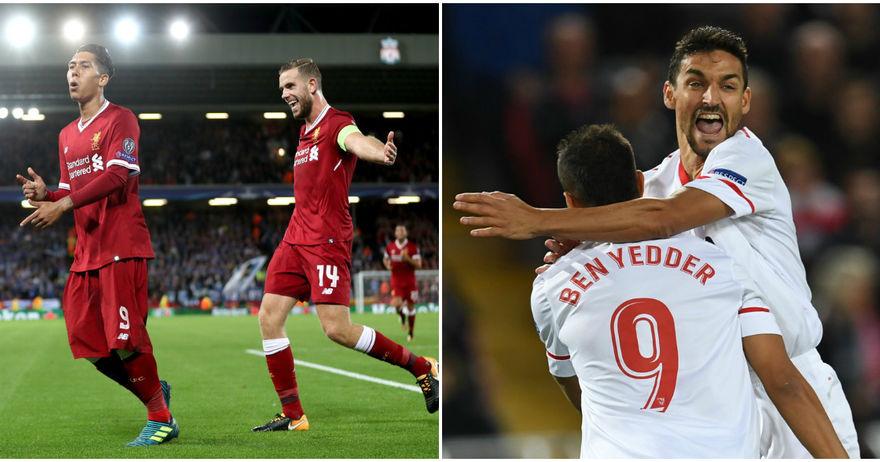 Севиља му откина бод на Ливерпул на  Енфилд   реми и во Словенија меѓу Марибор и Спартак М