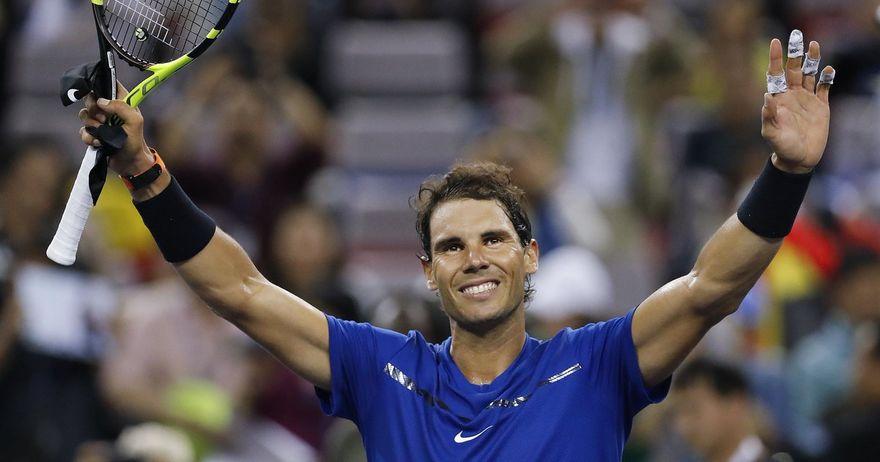 Надал со тениска лекција за Фоњини обезбеди четвртфинале во Шангај