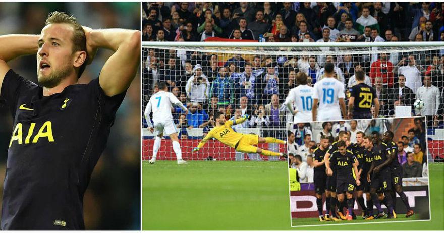 Тотенхем покажа  заби  и играше егал до реми со моќниот Реал среде Мадрид