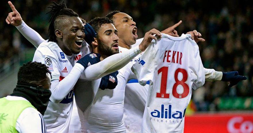 Лавовите  победници во француското дерби со Марсеј