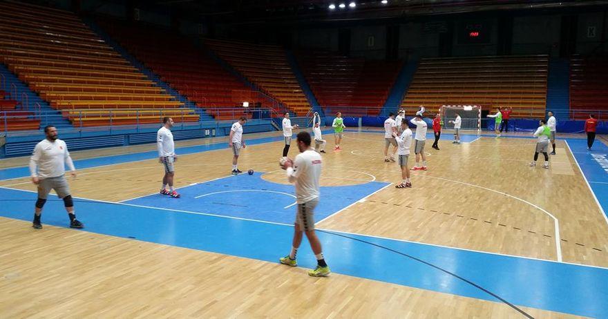 Ракометарите се адаптираат на Загреб  првиот тренинг во  Дом Спортова