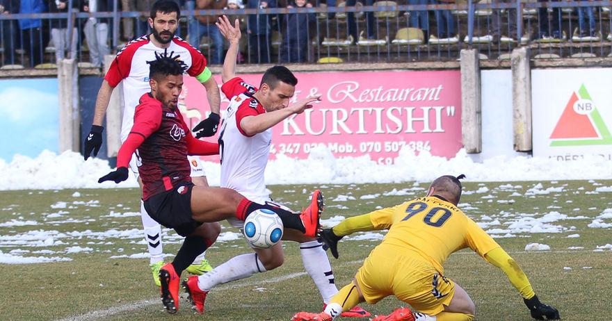 Шампионот Вардар не победи во Тетово  Шкендија останува фаворит за титула во ПМФЛ