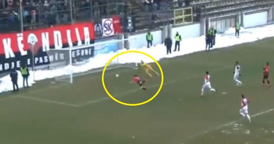 Шкендија може да жали   Ибраими даде гол  но и прокоцка зицер за победа