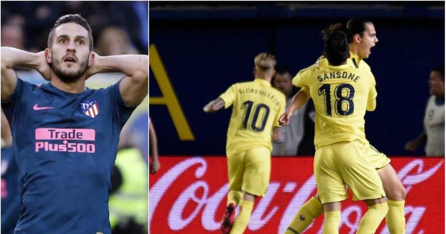 Гризман одново стрелаше  но Атлетико запиша трет сезонски пораз кај Виљареал