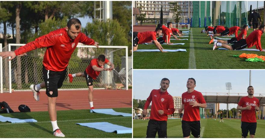Македонија тренираше во Белек со мислите насочени кон Финска и Азербејџан