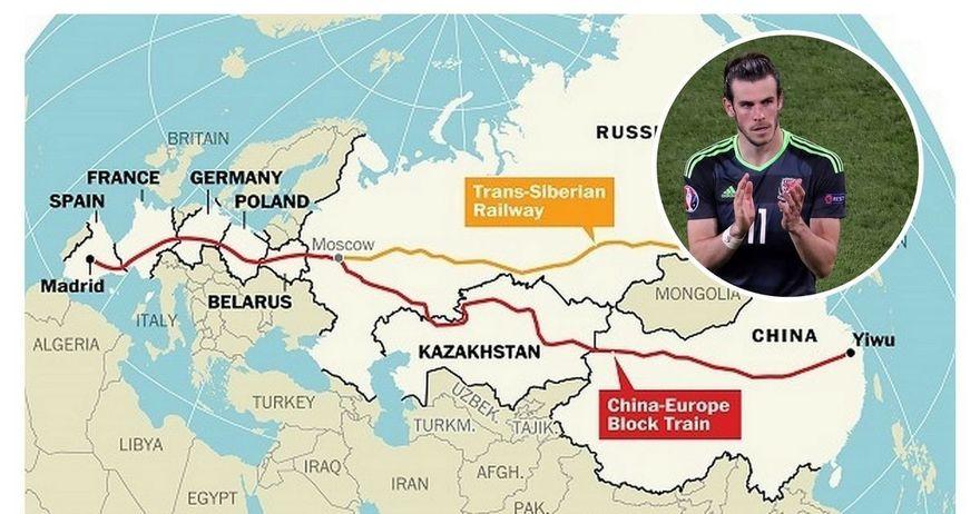 Бејл мина 12 000 километри за да ја испочитува репрезентацијата