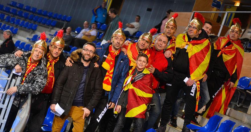 Само Македонци во арената во Мец  Лазаров и другарите како дома