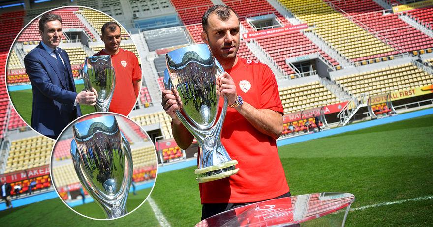 Гранде Пандев го извади Суперкуп трофејот на скопското сонце  кој ли ќе го грабне