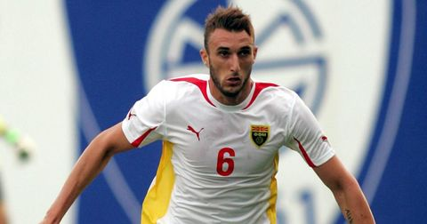 Александар Дамчевски во македонската репрезентација