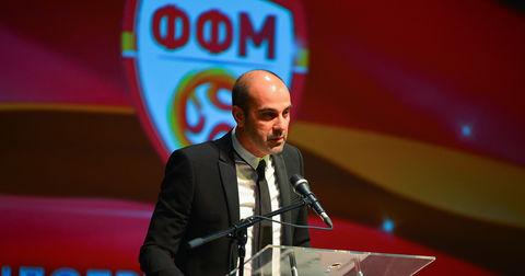 Васко Скендеровски на изборот за Спортист на Македонија