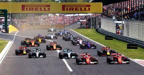 Формула 1 квалификации