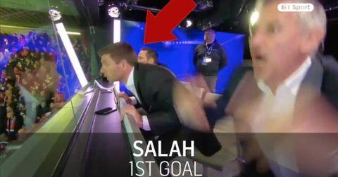 Стивен Џерард прослава на гол