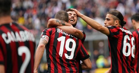Милан три бода