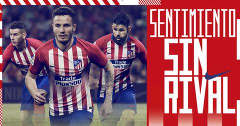 Атлетико Мадрид дрес