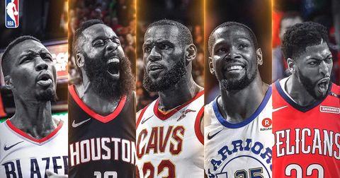 НБА петорка