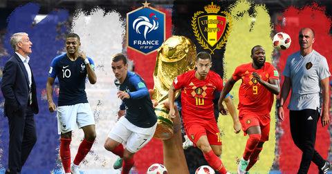 Франција Белгија состави