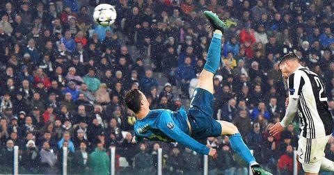 Роналдо ножички против Јувентус