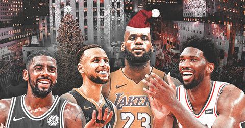 НБА божиќен распоред