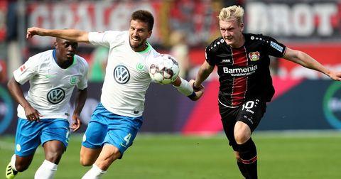 Волфсбург победа