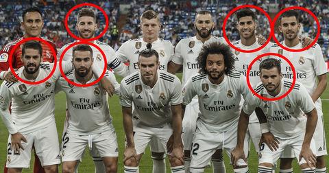 Реал Мадрид шпански состав
