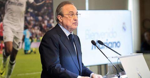 Флорентино Перез Реал Мадрид