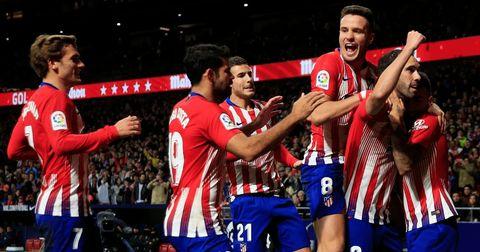 Атлетико Мадрид победа