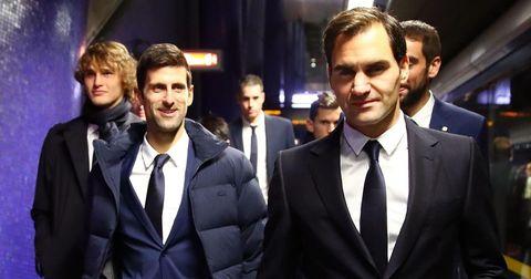 Федерер и Ѓоковиќ