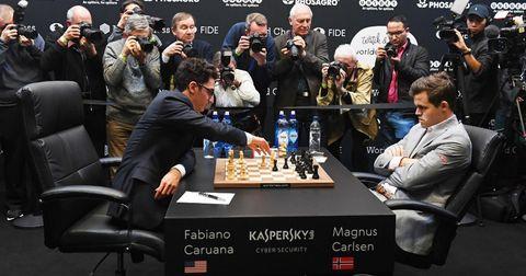Карлсен шах